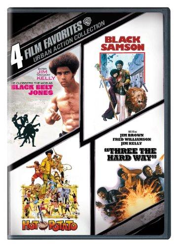 (4 Film Favorites: Urban Action (Black Belt Jones, Black Samson, Hot Potato, Three the Hard Way))
