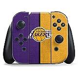 NBA Los Angeles Lakers Nintendo Switch Joy Con Controller Skin - Los Angeles Lakers Canvas Vinyl Decal Skin For Your Switch Joy Con Controller