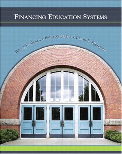 Financing Education Systems