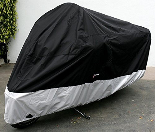 Premium Heavy Duty Motorcycle cover (XXL). Includes cable & lock. Fits up to 108