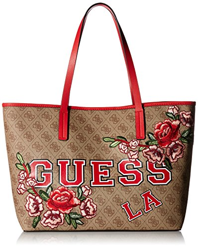 Guess Vikky Floral Multicolore Logo Cabas rTAqwr8