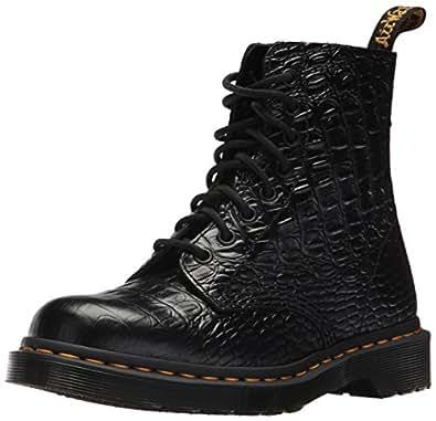 Dr martens women 39 s pascal croc ankle boot for Amazon dr martens