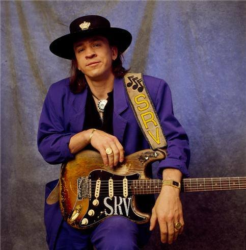 Stevie Ray Vaughan cut signature