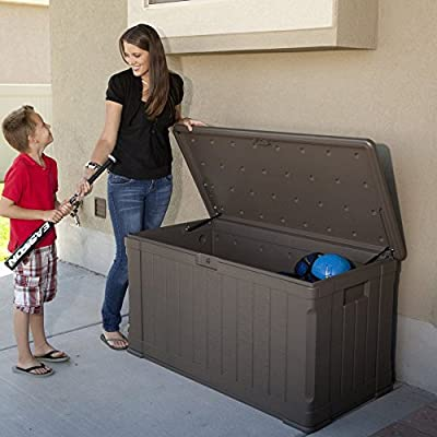Lifetime Products 116-Gallon Outdoor Storage Box