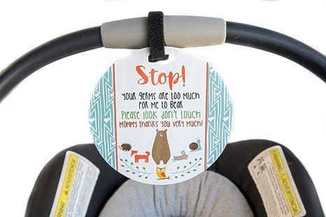 Woodlands Señal de seguridad para bebé, recién nacido, bebé ...
