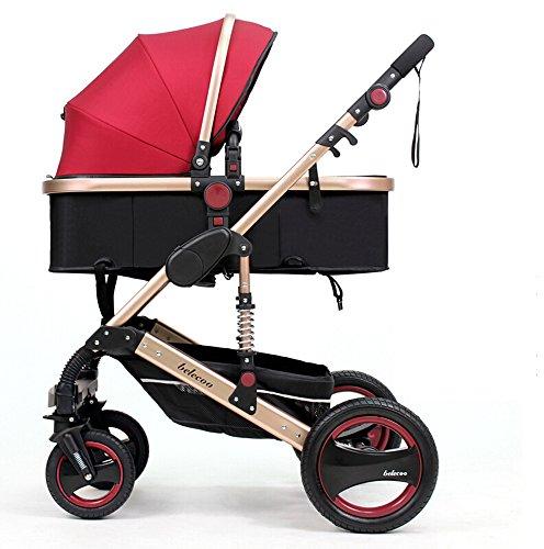 Luxury-Newborn-Baby-Foldable-Anti-shock-Stroller-High-view-Infant-Pushchair