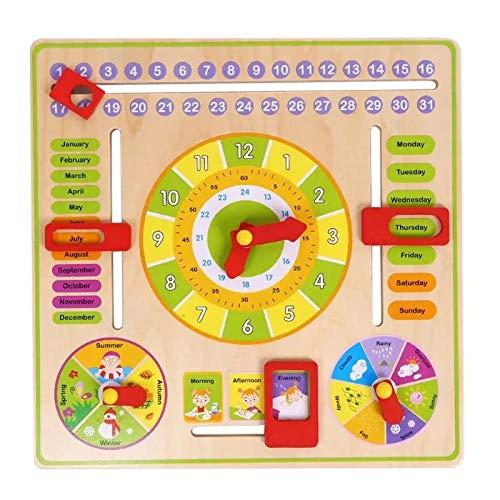 Wooden Clock Educational Set
