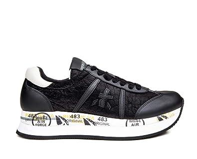 Collezione Nero Mod Donna Ai Nuova Conny Bianco Sneakers Premiata n50xII