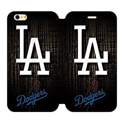 RAROFU Mlb Los Angeles Dodgers Cover Case for iPhone6 Plus 5.5""