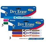 Fine Tip Dry-Erase Marker (3 Pack) Quantity: Case of 144