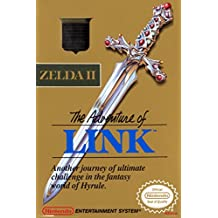 The Adventure Of Link Zelda II Super Nintendo NES Game Boy DS 3DS Wii Vintage Box Art Poster - 12x18