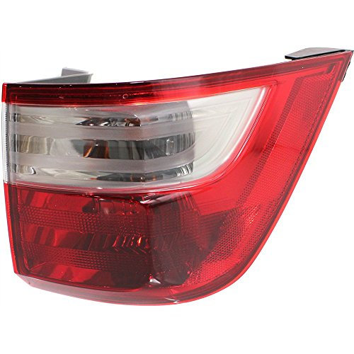 Evan-Fischer EVA156012513304 Tail Light for Honda Odyssey 11-13 Right Side Outer Assembly ()
