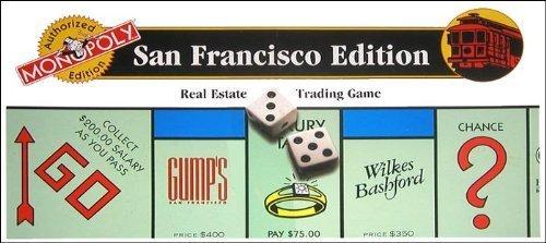 Monopoly - Authorized San Francisco - Francisco San Macy's