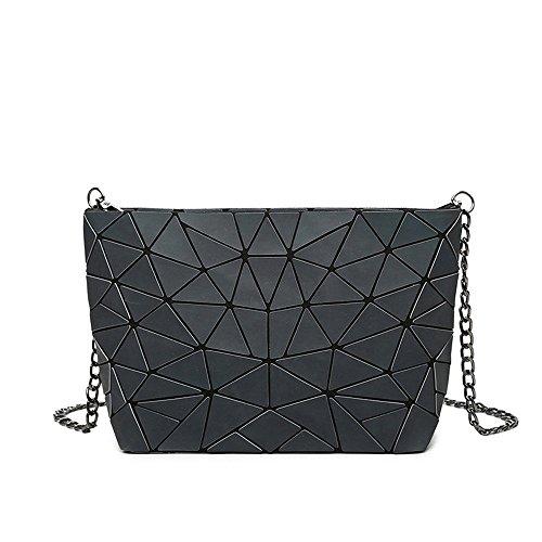 Main Sacoche De Dame De À De Black De Triangle Chaîne GWQGZ Sac Nouveau Sac Mode Gueules P1wU0q