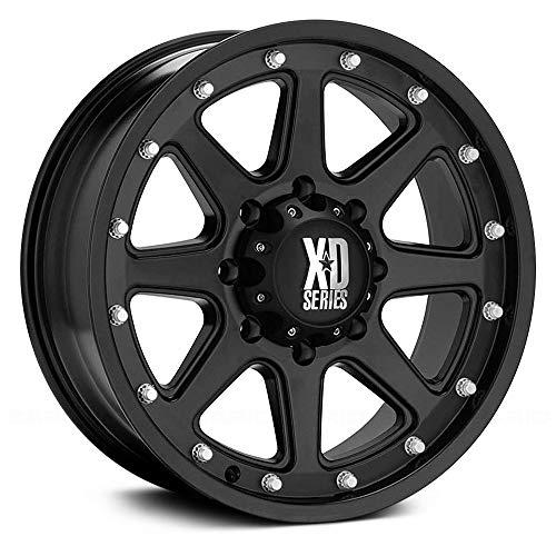 XD Series by KMC Wheels XD798 Addict Matte Black Wheel (20x9
