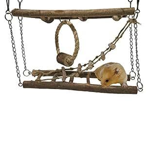 Rosewood Pet Activity Suspension Bridge - Hamster & Small Animal Toy