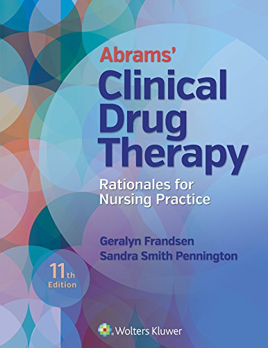 149634796X - Abrams' Clinical Drug Therapy: Rationales for Nursing Practice