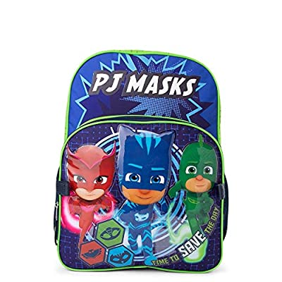 PJ Masks School Backpack Bookbag Kids Boys Girls Toy + Name Tag | Kids' Backpacks