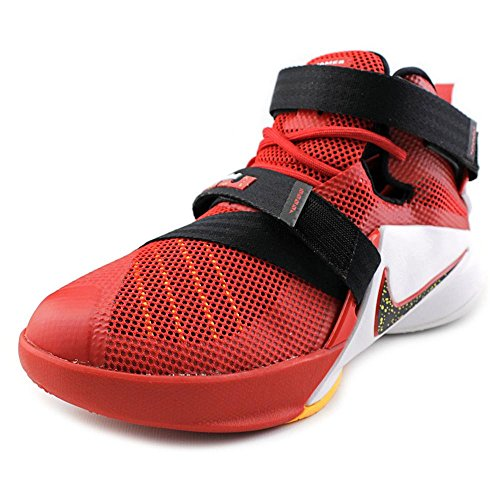super popular 87d7c 2003f Galleon - Nike Kids Lebron Soldier IX GS, UNIVERSITY RED BLACK-TEAM RED- WHITE, Youth Size 6.5