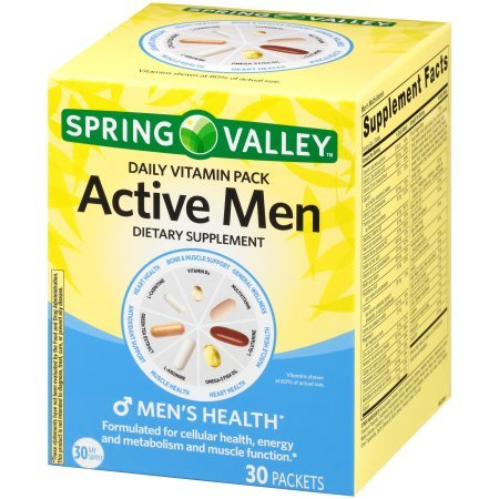 Buy vitamins for active male