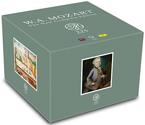 - Mozart 225: The New Complete Edition [200 CD Box Set]