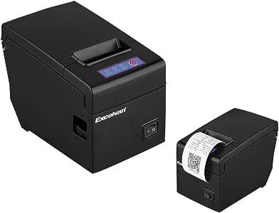 EXCELVAN USB 58mm Thermal Dot Receipt Printer suitalble