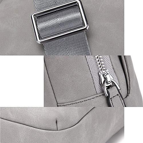 Sportiva Gray Borsa Zaino A Piccola Casual Tracolla Black Marea Da Light Spalla Coreano Uomo color ZW1q48SZw