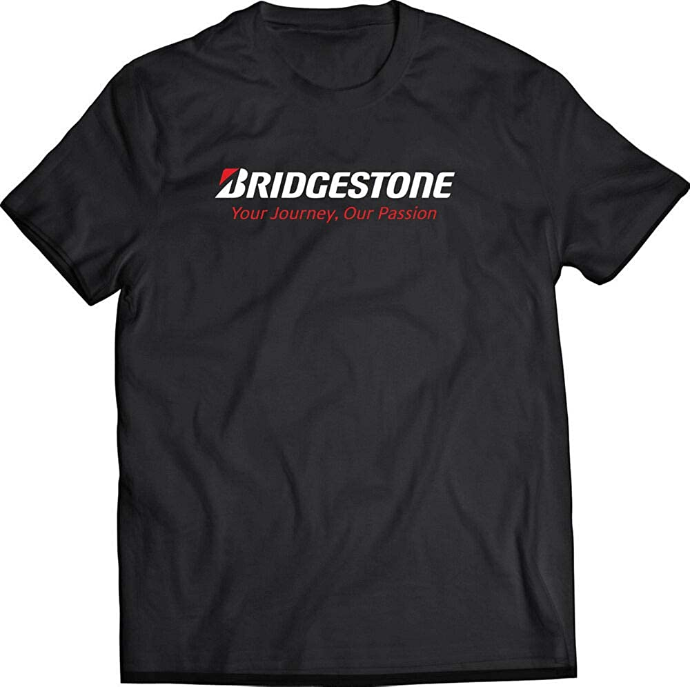 BRIDGESTONE Racing Tire Black T-Shirt