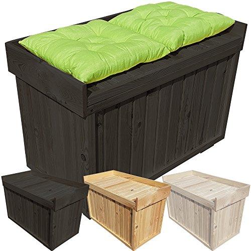 Extrem PROHEIM Auflagen-Box mit Sitz aus 100% FSC Holz Stabile Universal TD23