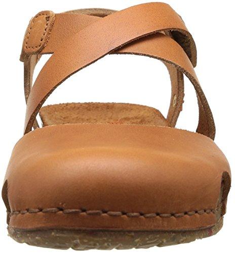 ART CRETA - Sandalias de vestir de cuero para mujer marrón - Braun (CUERO)