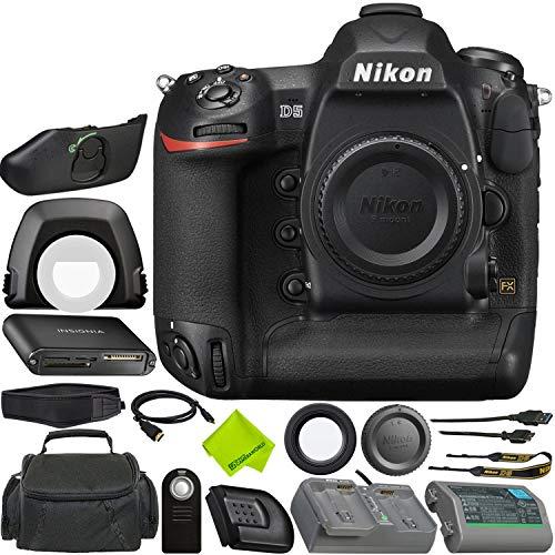 Cheap Nikon D5 DSLR Camera (Body Only – Dual CF Slots) Bundle