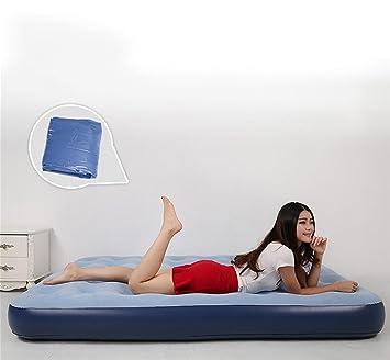 R & R casa al aire libre inflable PVC flocado cama plegable ...