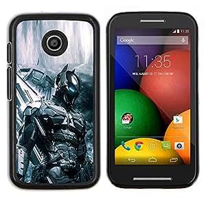 """Be-Star Único Patrón Plástico Duro Fundas Cover Cubre Hard Case Cover Para Motorola Moto E / XT1021 / XT1022 ( Future Soldier Tech Bat"""" )"""