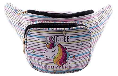 Unicorn Fanny Festival Waist Pack - Waist Bags for Women - Great for Men, Women, and Kids