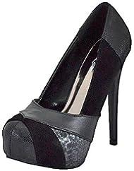 a56ca351f15 Lady Luxe Yasmine-12 Black Women Platform Pumps !! - StepanisYuryeva