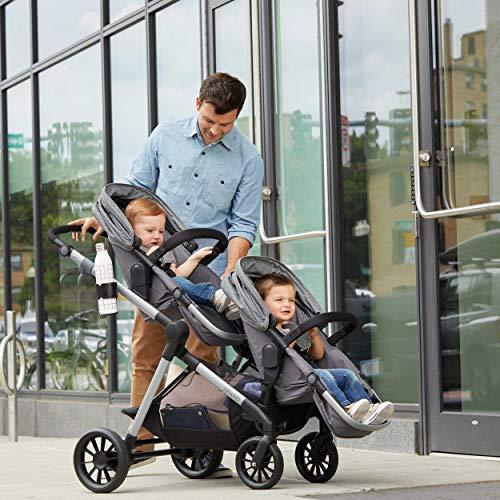 51zc7oJsuIL - Pivot Xpand Modular Travel System With SafeMax Infant Car Seat, Stallion Black