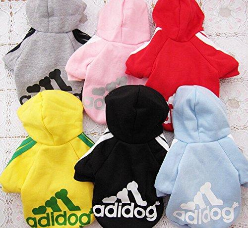 Pijamas de Rayas Black*3XL Vestidos Sudaderas con Capucha Sudadera con Capucha del Animal dom/éstico SROVFIDY Ropa para Perros