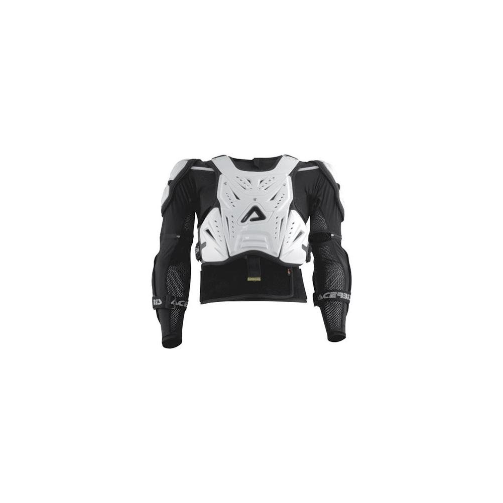 Acerbis Cosmo Deflector with Jacket (White/Black, Large/X-Large)
