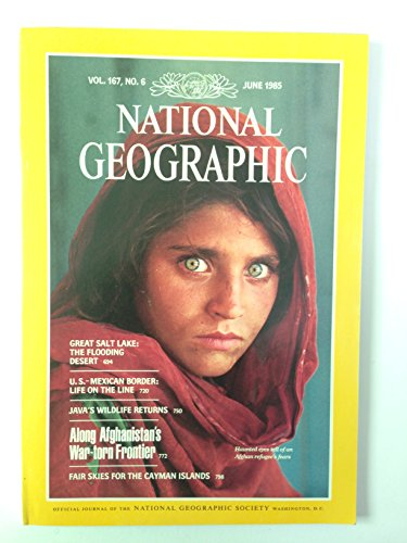 National Geographic : Vol 167, No. 6 : Afghan Girl -