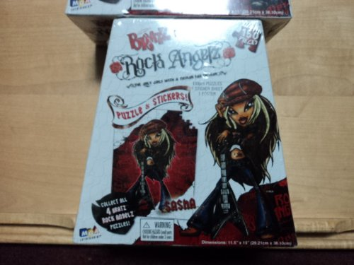 Bratz Stickers (Bratz Rock Angelz Puzzle and Stickers 150 Piece - Sasha)