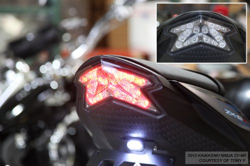 2013 2018 Kawasaki Ninja Zx 6r 636 2016 Z800 Integrated Import