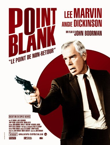 Point Blank Poster French C 27x40 Lee Marvin Angie Dickinson Keenan Wynn