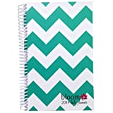 """Bloom Daily Planners 2016 Calendar Year Daily Planner -Passion/Goal Organizer - Monthly Weekly Agenda Datebook Diary-January 2016 - December 2016 - 6"""" x 8.25"""" -Teal"""