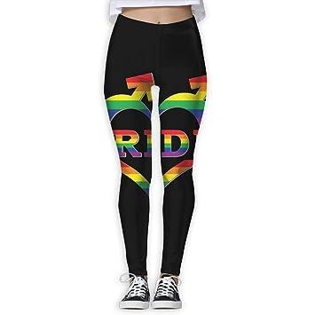 Abfind Pantalones de Yoga Orgullo Gay en Forma de corazón y ...