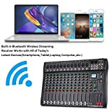 Depusheng Professional 12 Channel Bluetooth DJ