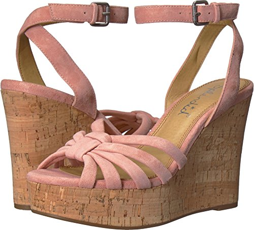 Splendid Blush - Splendid Women's Fallon Wedge Sandal, Blush, 10 Medium US