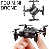 ドローン カメラ付き 小型 ラジコン FDU MINI DRONE(WHITE) ミニドローン 2.4GHz 6軸ジャイロ Wi-Fi対応 空撮 高性能 宙返り飛行 [日本語取扱説明書付]
