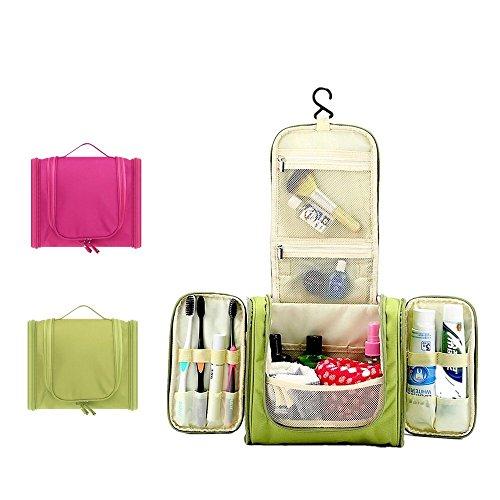 c73d68773608 BeneU Waterproof Hanging Toiletry Bag Makeup Cosmetic Shaving Bag ...