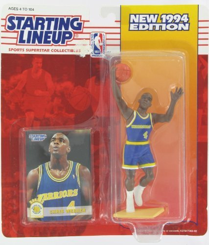 1994 NBA Staring Lineup - Chris Webber - Golden State Warriors by Starting Lineup
