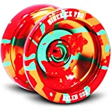 Sidekick Yoyo Pro Red Yellow Green Splashes Professional Aluminum UNresponsive YoYo